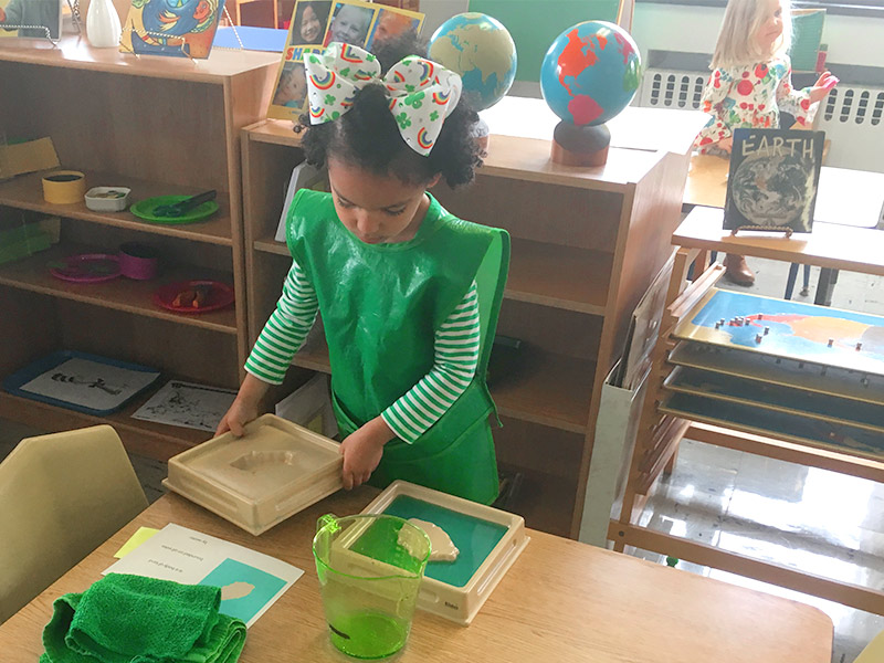 Land and Water Forms | Indiana, PA Preschool Montessori