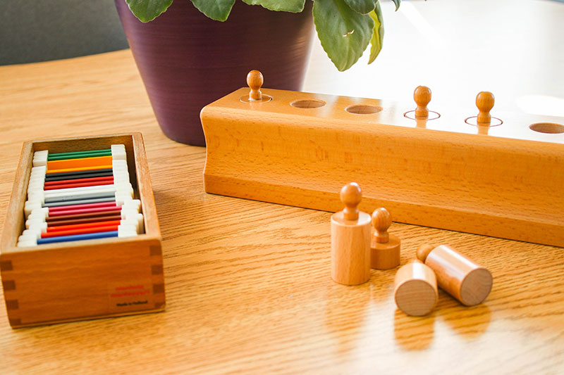 Color Tablets and Cylinder Blocks
