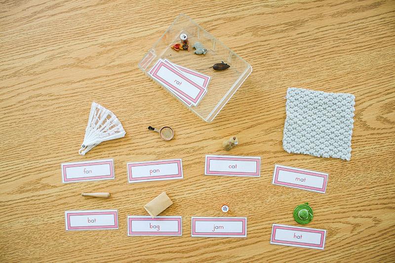 Montessori Pink Language Series